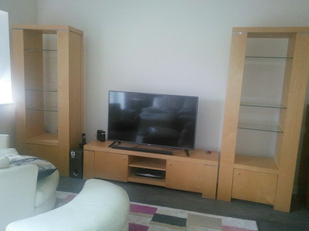 Wall units with TV stand   in Hayling Island, Hampshire   Gumtree