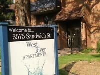 Large two bedroom with balcony! $725 INCLUSIVE!