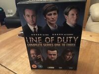 Line of duty series 1 2 &3 DVDs