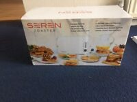 Seren toaster and cover tray