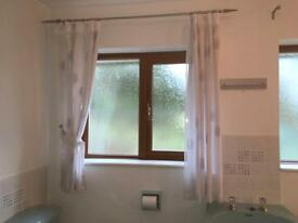 Curtains and curtain poles