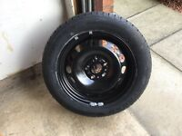 Car Spare Tyre from Skoda Octavia 205/55R16 Brand New and Unused
