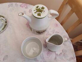 22 piece Vintage tea set