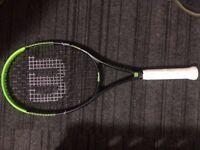 Tennis racket. Wilson Milos Raonic