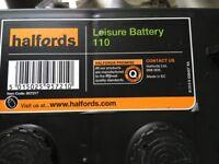 Halfords Leisure Battery HLB 681 12v 110AH