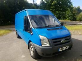 FORD TRANSIT T350 110 58 2008 mwb semi hi top FWD
