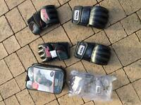 MMA gloves two pairs