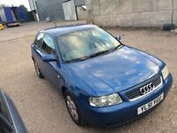 2001 Audi a3 1.6 petrol, Full leather, Drive Away Today!