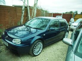 VW Golf 2.8 4motion 3 door