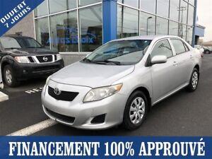 2010 Toyota Corolla CE **49$/SEM*FINANCEMENT 100% APPROUVÉ **