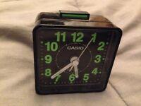 Casio alarm clock small