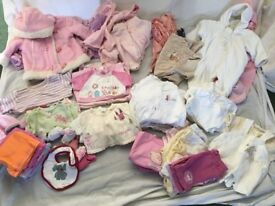 0-3 months Girls Clothes Bundle (Used)