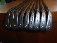 "A Set Of 9 "" YASUDA "" IRONS . 3 TO S/W,"