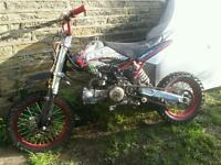 Demon x 125 pit bike pitbike