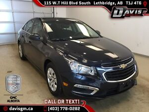 Used 2016 Chevrolet Cruze Limited-Remote Start, Sunroof, Rear Vi