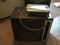 Mutant Subwoofer & Sony Xplod 2/1 Amplifier (Used)