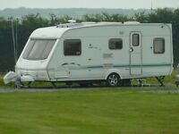 Bargain Touring caravan to hire! 4 berth +