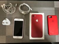 iPhone 7 Red 128 GB Mint Condition