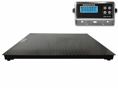60 X 60 5 X 5 Floor Scale Pallet Size With Rs-232 Port 10000 X 1 Lb