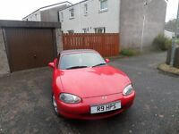 mazda mx5 convertable (spares or repair)