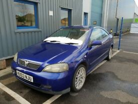 Vauxhall Astra Coupe 1.8 Bertone special edition 100 FSH