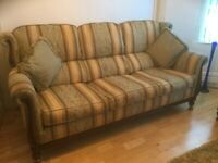 AMAZING YELLOW/MUSTARD 3 SET SOFA. IN VERY GOOD CONDITION!