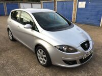 SEAT ALTEA / 51k MILEAGE / 1.6 PETROL/ FULL SERVICE HISTORY / NEXT YEAR MOT / MPV FAMILY CAR