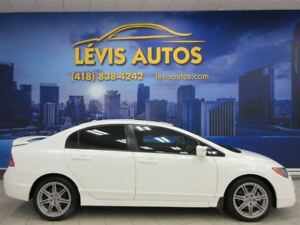 2010 Acura CSX TYPE S 201 HP GPS NAVIGATION CUIR TOIT OUVRANT
