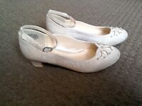 Girls Holy Communion/ bridesmaid shoes