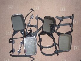 Towing Mirrors - 2 Sets (Used) - Adjustable