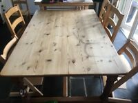 Large farmhouse kitchen table £200