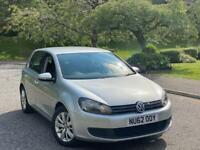 2012 (62)Volkswagen Golf 1.6 TDI Match Full Service History + not Audi bmw Seat