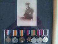Military Medals Wanted by collector and historian.