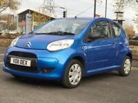 XMAS SALE!! 2011 CITROEN C1 VTR 1.0 *3 DR *STUNNING BLUE *LONG MOT *IDEAL FIRST CAR