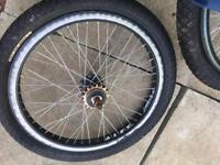 Alex Bmx wheels.