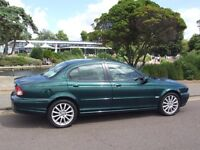 Superb Jaguar X Type 2008 2.0L D S diesel 4 dr saloon in excellent condition