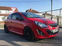 Corsa 1.2 limited edition 2012 facelift