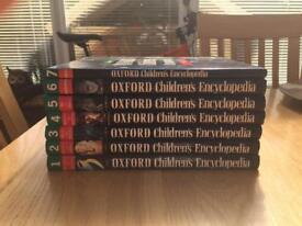 Oxford Children's Encyclopaedias (Set of 7)