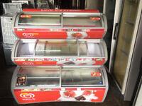 Walls 3 Tier Ice Cream Freezer / Ice Cream Display - 3 Tier - USED- 1.25M WIDE- EXCELLENT CONDITION