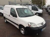 2007 PEUGEOT PARTNER 1.6 HDI CHEAP BARGAIN NEW MOT LOCAL COMPANY VAN CAR PART...