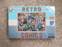 BNIB Retro Comics Jigsaw