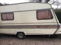 Abbey 2 birth caravan cheap spares