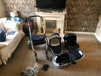 Push Chair Riviera 3 in 1 Travel System