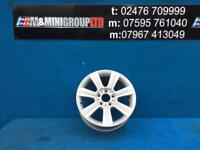 "BMW 3 SERIES E36 E46 17"" ALLOY RIM STAR SPOKE 96 8JX17"" ET 47"