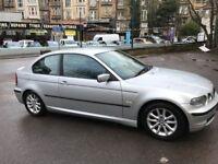 2003 Silver BMW 3 Series 97K MOT June 2018