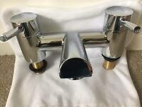 Bristan chrome bath mixer tap
