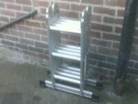 LADDERS AJUSTABLE TYPE LIGHT WEIGHT £55