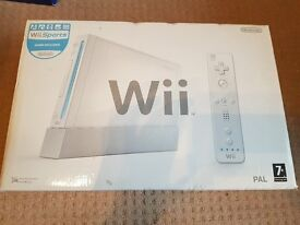 Nintendo Wii White CONSOLE BOXED FREE UK DELIVERY
