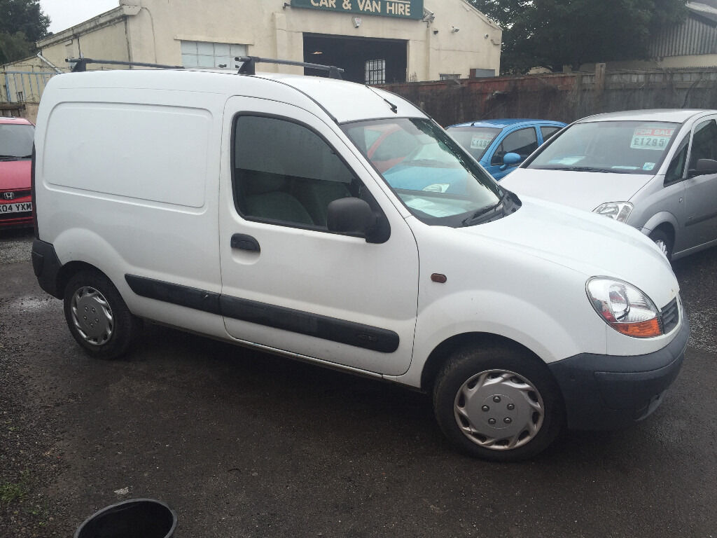 renault kangoo 1 5 diesel white manual van great runner in henleaze bristol gumtree. Black Bedroom Furniture Sets. Home Design Ideas