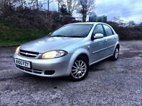 🚗 Chevrolet Lacetti 05 / 55k / 1 yr MOT / 1 owner / Full stamped service history